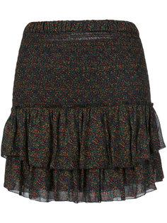 юбка с цветочным узором и оборками Isabel Marant Étoile