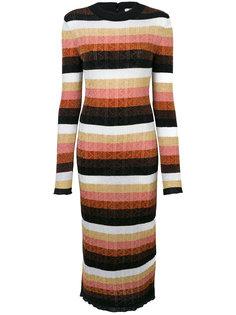вязаное платье Fendi