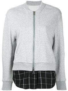 куртка-бомбер с контрастной вставкой 3.1 Phillip Lim