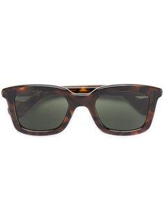 солнцезащитные очки в оправе с эффектом черепашьего панциря Moncler Eyewear