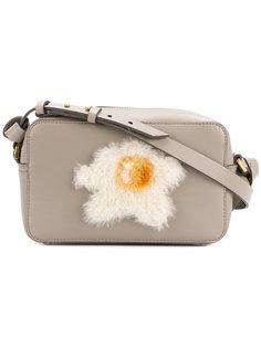 сумка через плечо с аппликацией в виде яйца Anya Hindmarch