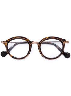 очки в круглой оправе Moncler