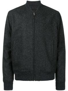 твидовая куртка-бомбер  Kent & Curwen