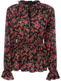 блузка с розами Dolce & Gabbana