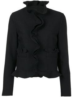 пиджак с оборками  MSGM