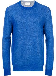 свитер с воротником в рубчик Dondup