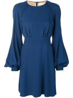 платье с рукавами-баллон Chloé