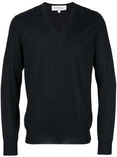 свитер с V-образным вырезом Salvatore Ferragamo