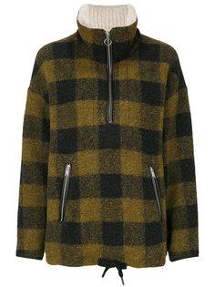 клетчатая куртка Isabel Marant Étoile