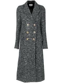 удлиненное двубортное пальто Isabel Marant Étoile