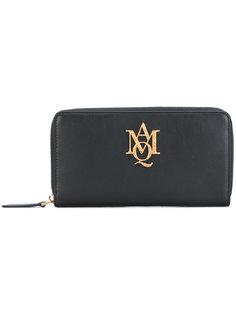 кошелек с монограммой Alexander McQueen