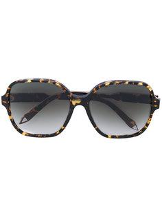массивные солнцезащитные очки  Victoria Beckham