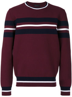 свитер с полосками Diesel Black Gold