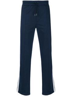 спортивные брюки с контрастными полосками Diesel Black Gold