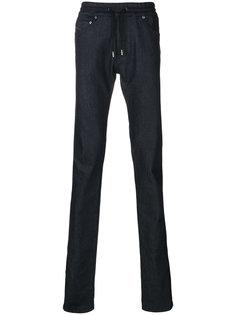 джинсы со шнурком на поясе и полосками по бокам Diesel Black Gold