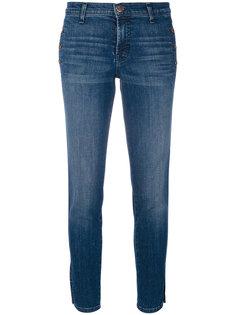 джинсы скинни с декоративными пуговицами J Brand