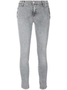 облегающие джинсы с пуговицами J Brand