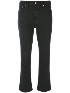 расклешенные укороченные джинсы Golden Goose Deluxe Brand