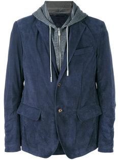 двухслойная куртка с капюшоном Eleventy
