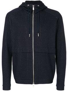 куртка в тонкую полоску с капюшоном Eleventy