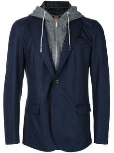 многослойная куртка с капюшоном Eleventy
