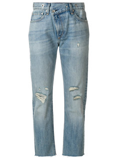 укороченные джинсы Wicked Rag & Bone /Jean