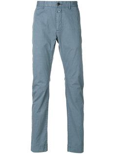 узкие брюки-чинос Closed