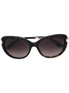 солнцезащитные очки с узором черепашьего панциря Bulgari