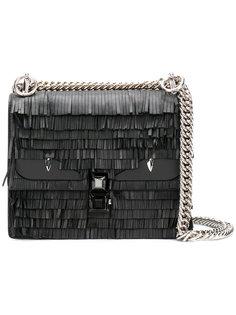 маленькая сумка Kan I с бахромой Fendi