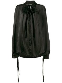 блузка свободного кроя с длинными рукавами Ann Demeulemeester