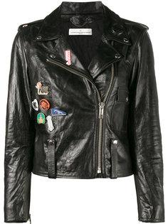 куртка с нашивками  Golden Goose Deluxe Brand