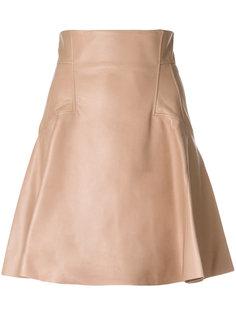 пышная юбка с панельным дизайном Alexander McQueen