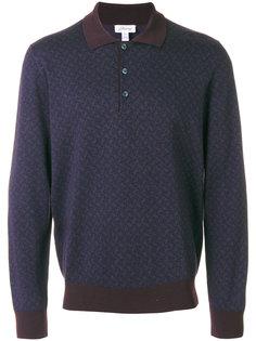 рубашка-поло с длинными рукавами Brioni