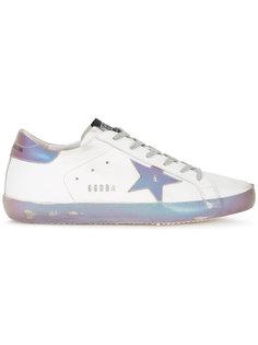 переливающиеся кроссовки Super Star Golden Goose Deluxe Brand