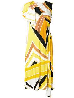 платье-шифт с вышивкой Emilio Pucci