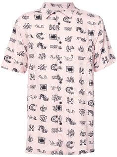 рубашка с картинками Vans
