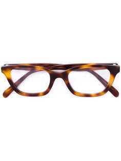 очки в оправе прямоугольной формы Céline Eyewear