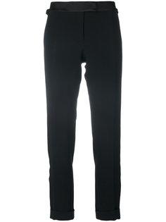 брюки с атласной вставкой на талии Tom Ford