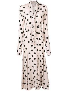 платье в горошек  Natasha Zinko