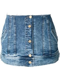 короткая юбка-баска Natasha Zinko