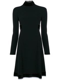 приталенное платье длиной до колена Dolce & Gabbana