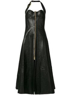 платье с молнией спереди Natasha Zinko