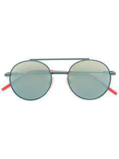 солнцезащитные очки с двойным мостом Fendi Eyewear