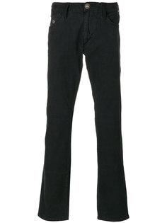 расклешенные джинсы с пуговицами Armani Jeans