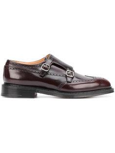 ботинки-монки с перфорацией Churchs