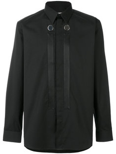 рубашка с планками и пуговицами Givenchy