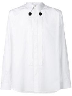 рубашка с панелями с пуговицами Givenchy