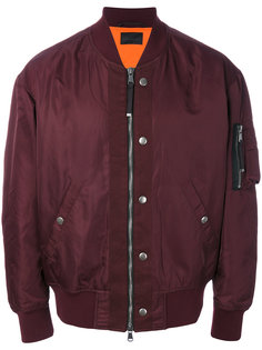 куртка-бомбер на молнии Diesel Black Gold