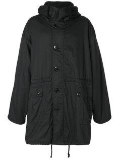 пальто с капюшоном  Ann Demeulemeester