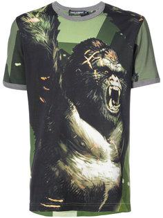 футболка Gorilla  Dolce & Gabbana